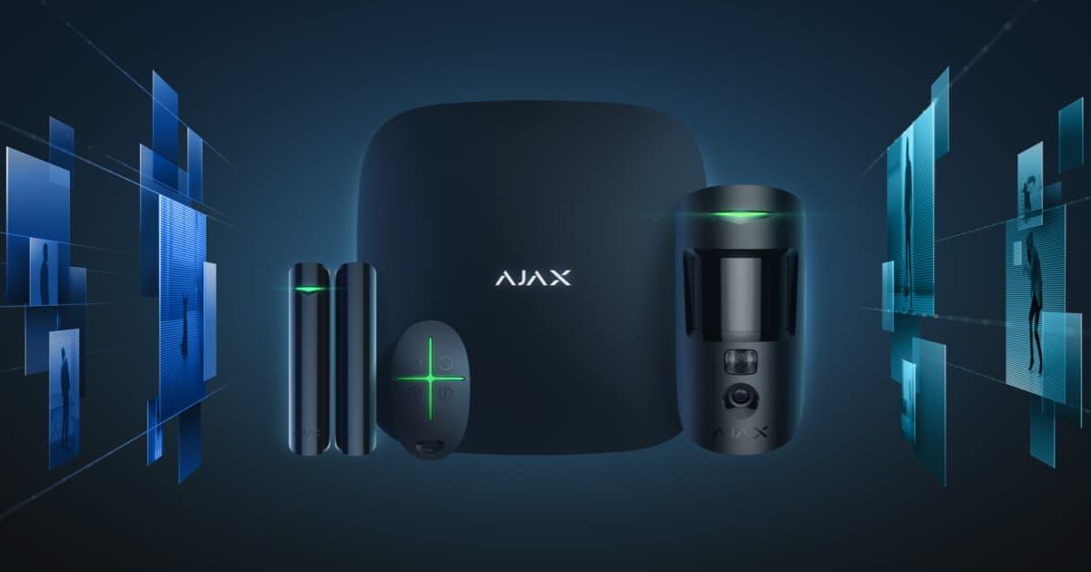 Siamo Partner Ufficiali AJAX SYSTEMS!